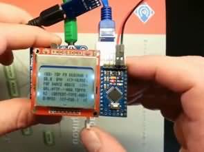 Internet Radyo Oynatıcı Arduino Pro Mini ARM Cortex-M0