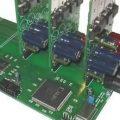 14V 55A Endüstriyel DC-DC Dönüştürücü TMS320LF2406 XCR3256XL CPLD VHDL