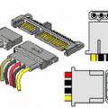 PC Güç Kaynağı Konnektör Kablo Voltaj Bilgileri