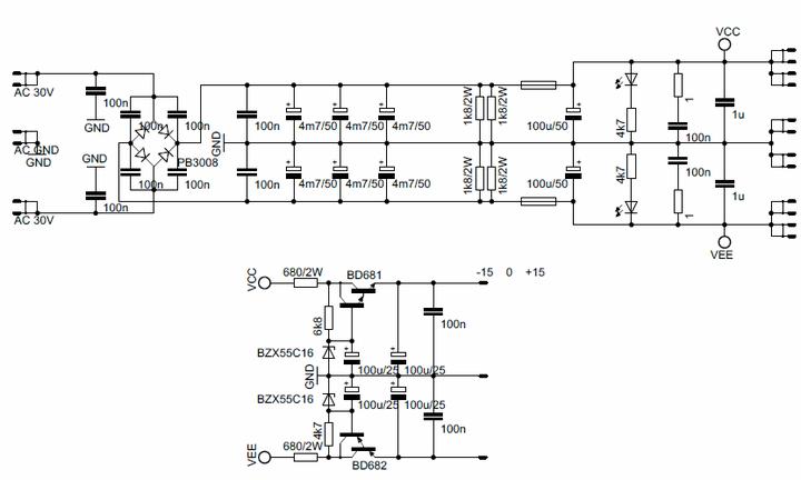 50v- 63v-15v-amp-power-supply-preamp-pcb-schematic