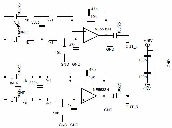 nmos350-70V-15V-power-supply-preamp-schematic