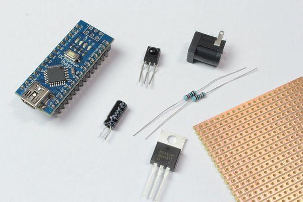 arduino-nano-remote-led