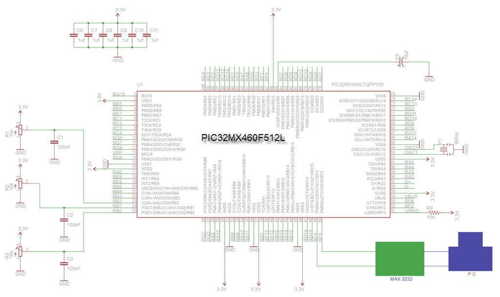 pic32-10bit-3-kanal-adc-ve-seriport-kontrol
