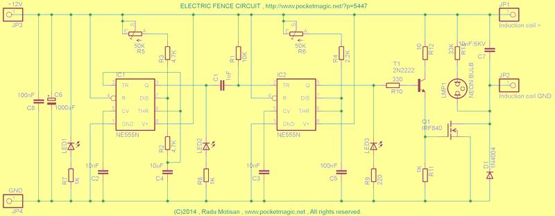 elektrikli-cit-devresi-electric-fence-circuit-schematic