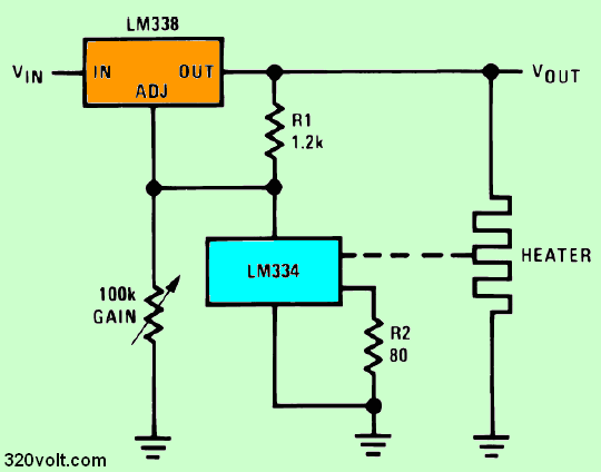 temperature-to-voltage-converter-circuit-lm317-lm334
