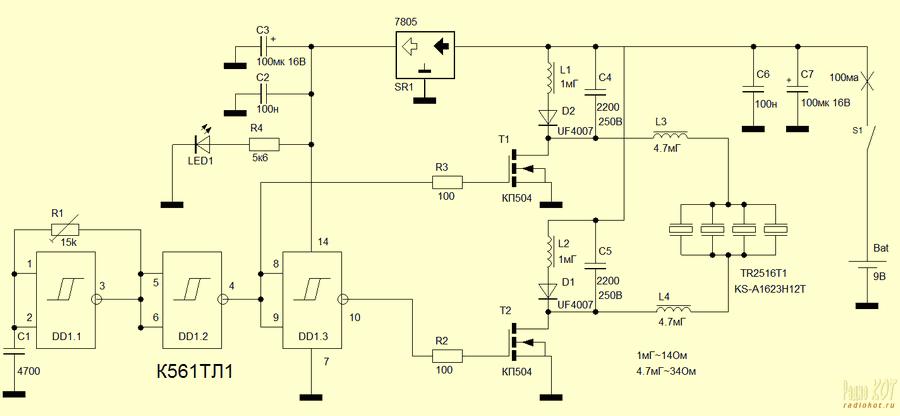 ultra-sonic-dog-repellent-circuit-schematic