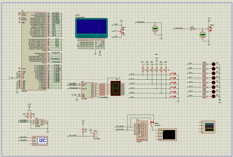 lpc2294-code-proteus-simulation