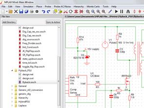 Microchip Analog Simülatör Programı MPLAB Mindi