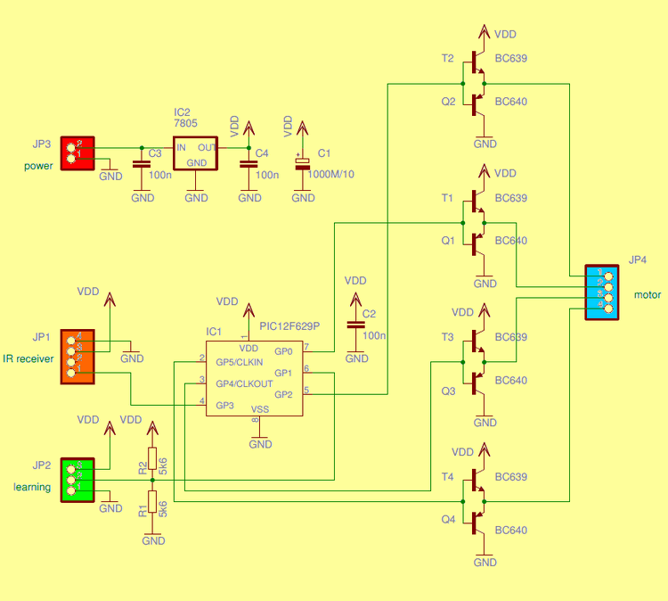 remote-control-potentiometer-pic12f629-rc5-ir-circuit-schematic