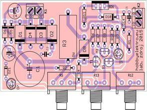 منبع تغذیه 0 تا 30 ولت 0 تا 3 امپر با LM350