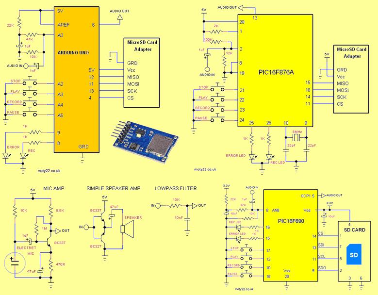 sound-recorder-arduino-wav-player