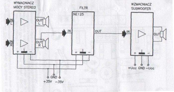 subwoofer-filter-connection