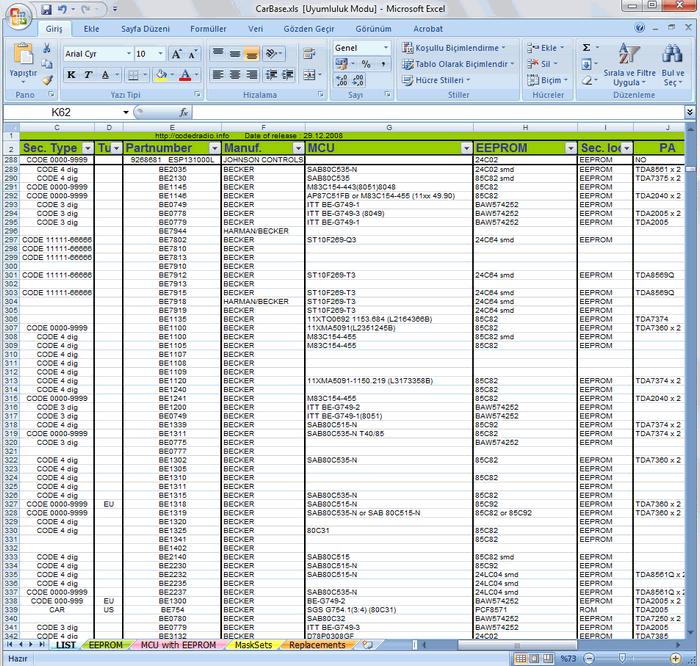 car-audio-database-code-mcu-eeprom-amp-etc