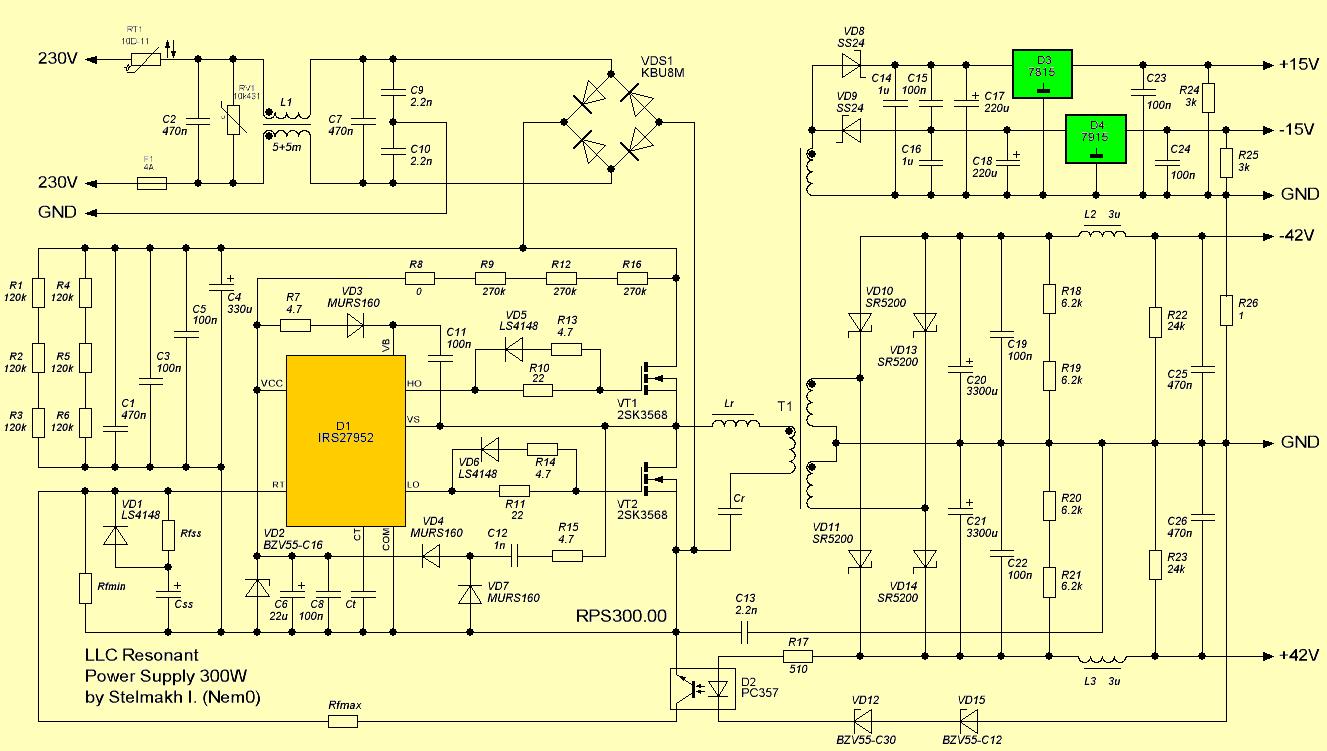 circuit-schematic-300w-llc-resonant-smps