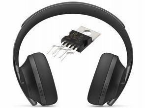 TDA2003 Class A Yüksek Performanslı Kulaklık Amfisi