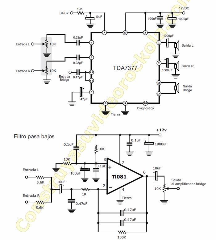 tda7377-bass-2.1-schematic