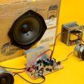 TDA7377 ile 2.1 Amplifikatör  Devresi