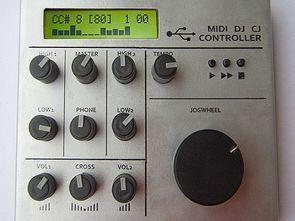 USB DJ Midi Kontrol Cihazı