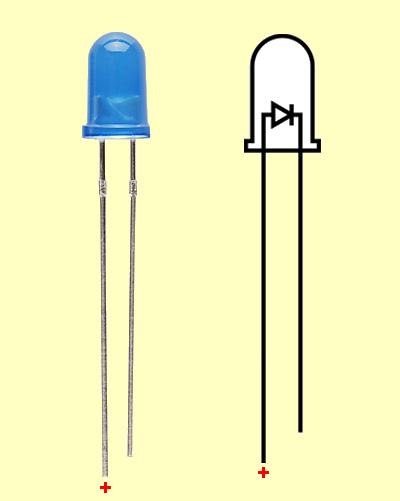 led-diyot-polarite