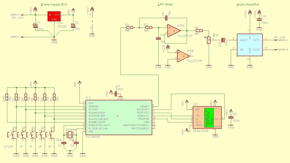 microchip-sound-player-dac-pwm-modulation-pic16f88-25aa1024