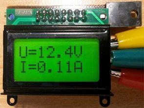 PIC12F675 0-100V 0-10A Volt Amper Metre