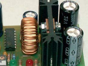 0-25V 0-5A DC DC Güç Kaynağı HCF4011 TL062