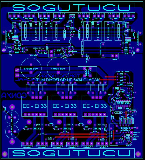 500w-mono-car-amplifier-circuit-pcb