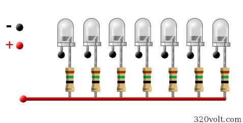 7-led-paralel-resistor