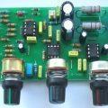 Subwoofer Amfi İçin Aktif Filtre Devresi TL072