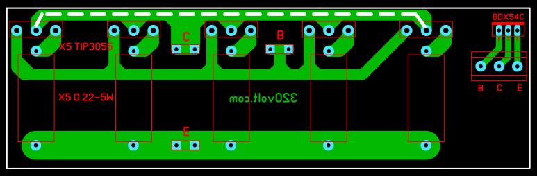 power-transistor-board-pcb