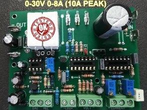 Laboratuvar Güç Kaynağı 0-30V 10A (Ayarlı) K7200 Yeni PCB
