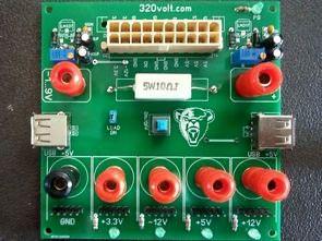 ATX Güç Kaynağı Regülatör, Voltaj Çıkış Kartı