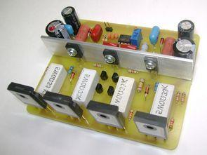 HI-FI 200W Mosfet Amplifikatör Devresi