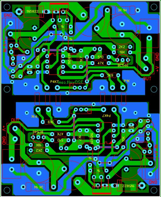 lm2576-adj-pcb-board