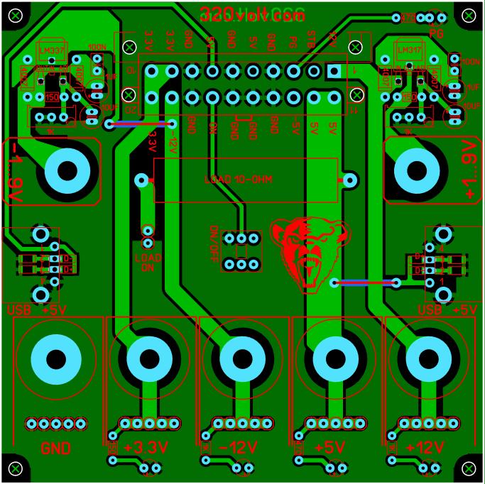 pcb-layout-atx-breakout-board