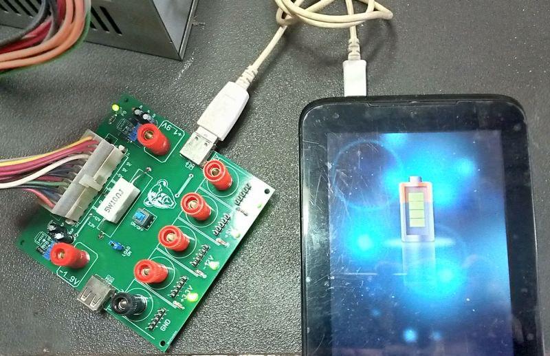 tablet-charger-usb-pcb-atx-breakout-board-atx-regulator