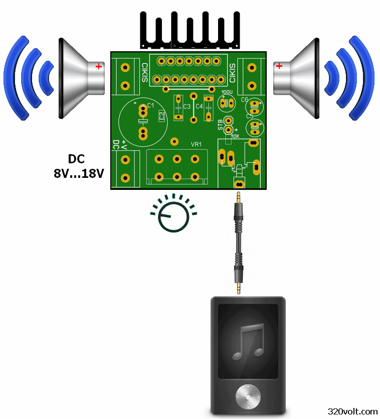 tda7377-connection-input-output-remote