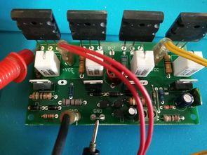 آمپلی فایر 200 وات با 2SC5200 و 2SA1943 همراه با pcb