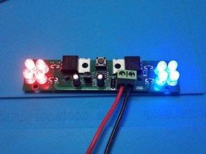 Çakar Lamba LED 16 Mod PIC12F675 Mosfet