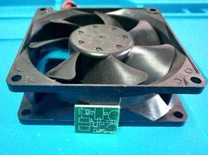 Isıya Duyarlı Fan Hız Kontrol Devresi (SMD-DIP PCB)