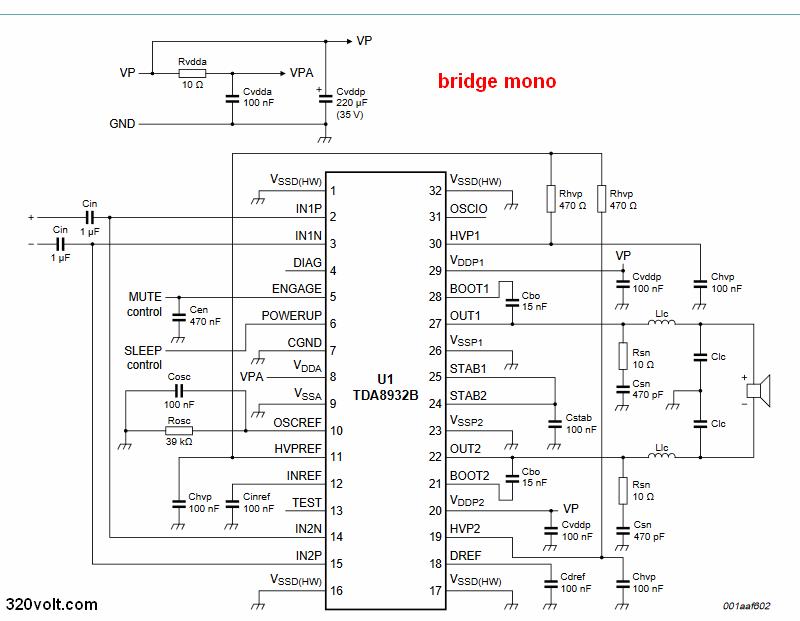 tda8932-bridge-schematic-circuit-diagram