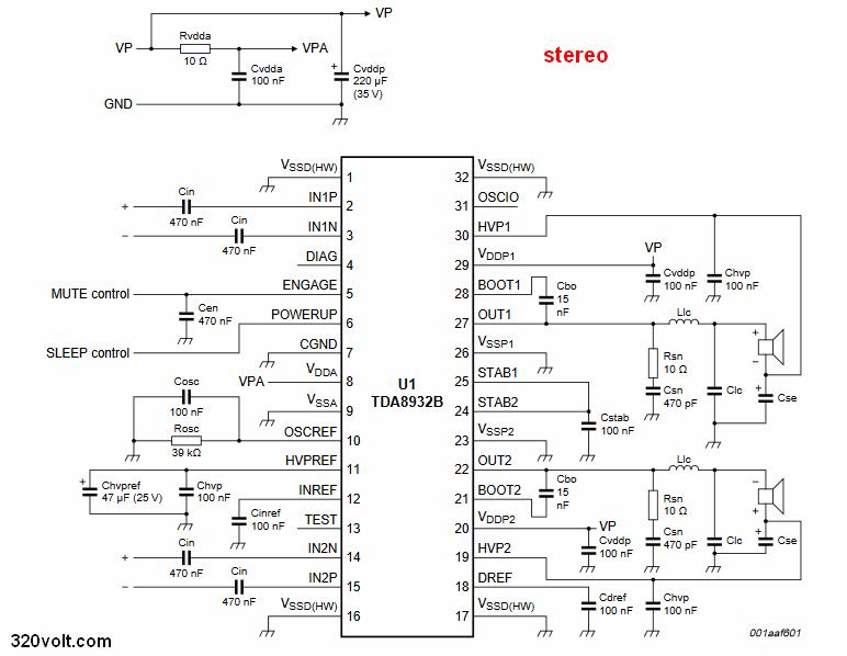 tda8932-stereo-schematic-circuit-diagram