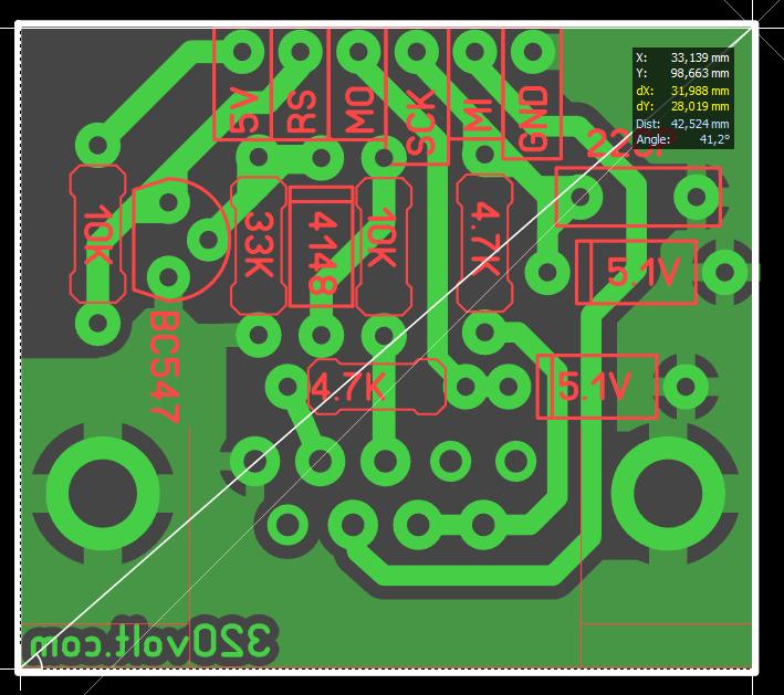 avr-serial-programmer-circuit-pcb-board-diy