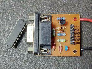 Basit Atmel Programlayıcı (Seri Port ISP)