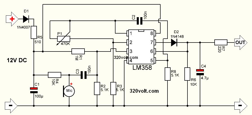 microphone-pre-amp-circuit-lm358