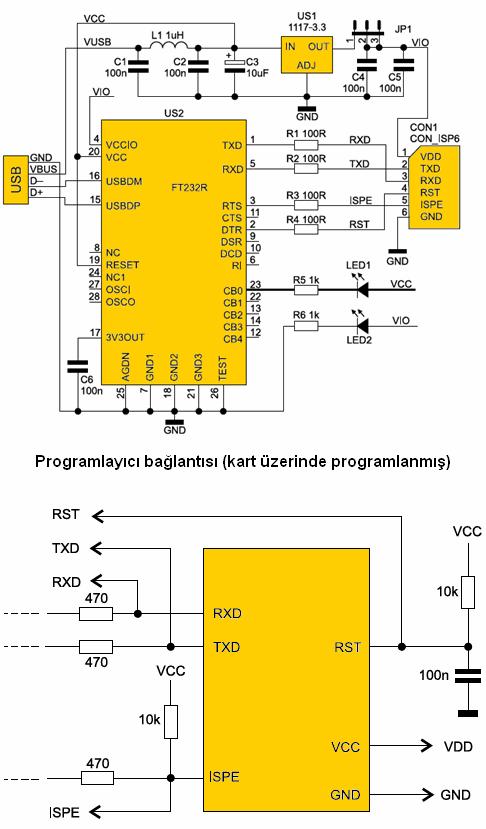 usb-arm-programmer-circuit-schematic