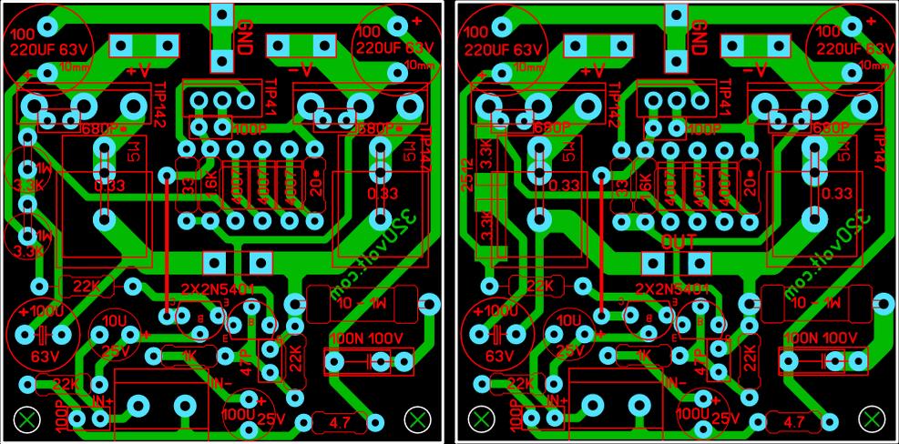 100w-amplifier-pcb