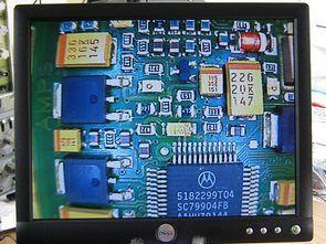 LCD Ekranlı Mikroskop