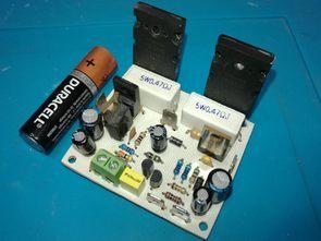 100W Amfi Serisi 3 2SC5200 NPN Amfi