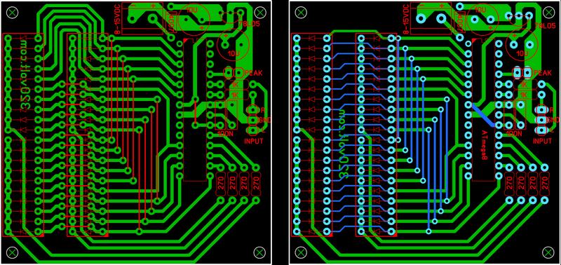 peak-hold-vu-meter-circuit-pcb